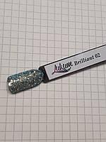 Декор для нігтів Lukum Brilliant № 02