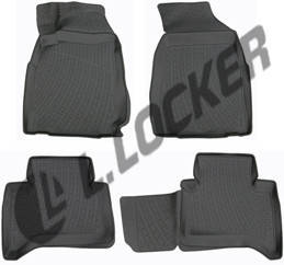 Коврики в салон Chevrolet TrailBlazer II (12-) 3D, Lada Locker