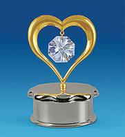 Шкатулка Сердце 8,5 см AR-3631