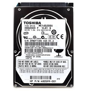 "Жесткий диск Toshiba 160GB 5400rpm 8MB MK1652GSX SATA, 2.5"" б/у"