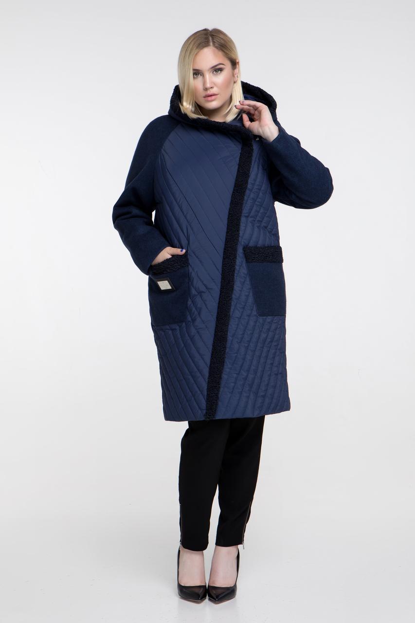 c99724eb22e Зимнее женское пальто Riches 646 (куртка) Большие размеры 48-66 - Интернет-