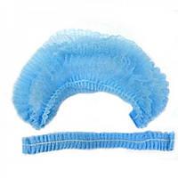 Одноразовые шапочки -береты , 100 шт