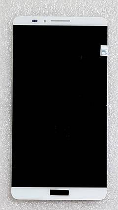 Модуль (сенсор + дисплей) для Huawei Ascend Mate 7(JAZZ-L09) білий, фото 2