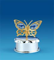 Шкатулка Бабочка 5,5 см AR-3628