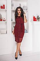 Платье+кардиган  БАТАЛ в расцветках 703051, фото 2