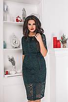 Платье+кардиган  БАТАЛ в расцветках 703051, фото 3