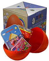 Большое пластиковое яйцо-сюрприз Megasurprise Пеппа (MS-1010)