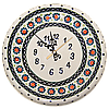 Часы настенные круглые керамические 24 Art Lawn