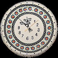 Часы настенные круглые керамические 24 Art Lawn, фото 1