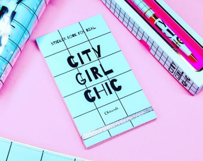 Книга с наклейками Sticker Book City Girl Chic 123194