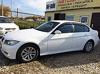 Дефлекторы окон BMW 3 Sd (E90) 2005-2012 (БМВ 3) Cobra Tuning