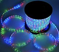 Гирлянда дюралайт готовый комплект с контроллером (дюларайт светодиодная лента): длина 20 метров, мульти