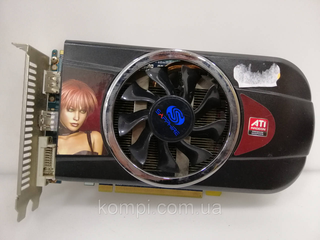 Видеокарта ASUS ATI RADEON HD 5770 1GB  PCI-E