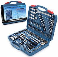 Набір ключів на 94 елементи + ріжково-накидні ключі TORX TAGRED TA204 Інструменти , набір головок , тріщотки ,