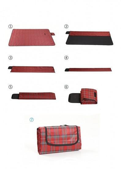Плед для пикника Sheng Yuan red 123492