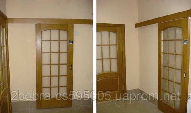Раздвижные Системы Кедр для Меж Комнатных Дверей до 60 кг, фото 2