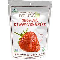 Natierra Natures All , Organic Freeze-Dried, Strawberries, 1.2 oz (34 g)