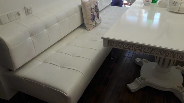Стол гостиный белый с патиной 200х100х75 (фото 4)