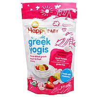 Nurture Inc. (Happy Baby), happyyogis, греческий йогурт, клубника банан, 1 унция (28 г)