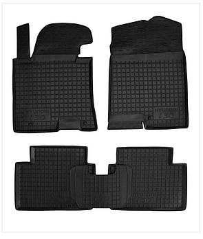 Коврики в салон Hyundai i30 2009-2012 черный, кт - 4шт