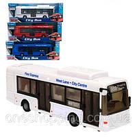 Детская игрушка Троллейбус 60322, масштаб  1:48, 38см, открыв. двери, 3 цвета