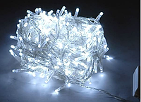 Новогодняя светодиодная гирлянда 200 диодов белая