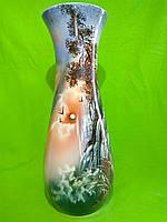 Керамическая напольная ваза «Осень» водопад