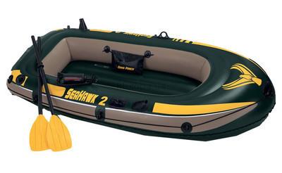 Надувная лодка Intex 68347 насос весла Seahawk-2