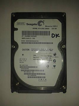 "Жесткий диск Seagate 320GB 5400rpm 8MB ST9320325AS SATA, 2.5"" б/у"