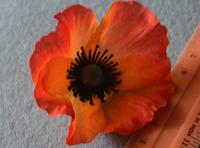 Атласні квіточки 3986 упаковка 10 шт, фото 1
