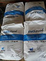 Хлористый кальций, хлорид кальция пищевой мешок 25 кг, Голландия