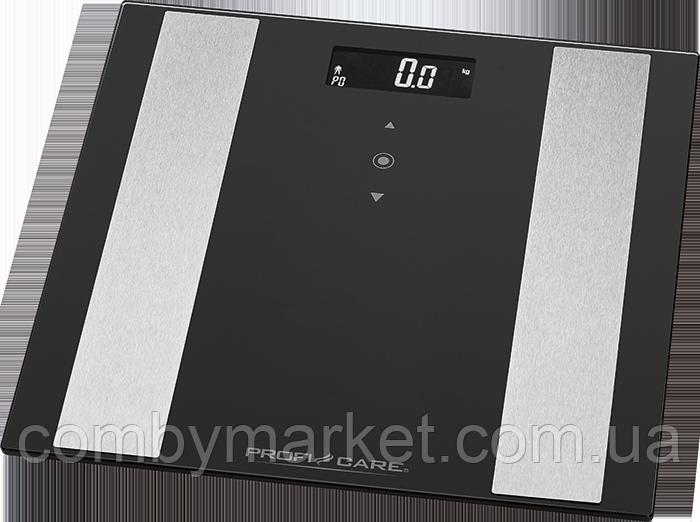Весы напольные PROFI CARE PC-PW 3007 FA black (8в1)