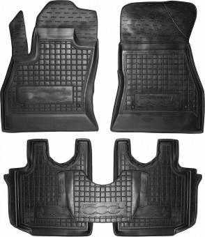 Коврики в салон Fiat  500L  2012-  черный, кт - 4шт
