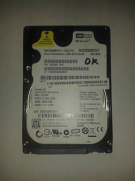 "Жесткий диск Western Digital 320GB 5400rpm 8MB BWD3200BEVT SATA, 2.5"" б/у"