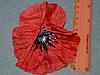 Атласные цветочки 3988  упаковка 10 шт