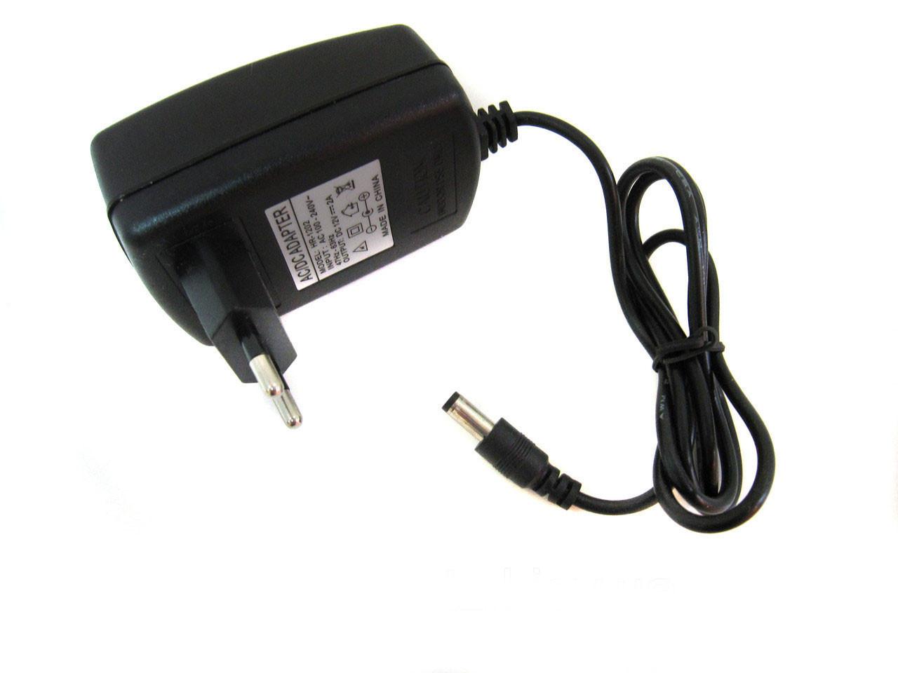 Блок питания 12v 2A адаптер для светодиодных лент