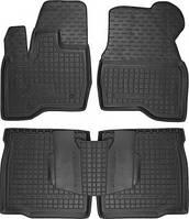 Коврики в салон Ford Explorer 2014- черный, кт - 4шт