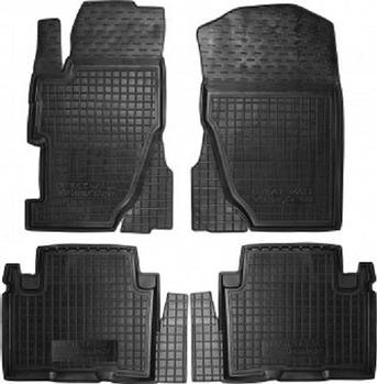 Коврики в салон Great Wall Volex C50 черный, кт - 4шт