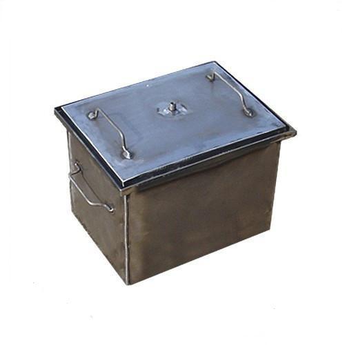 Коптильня с гидрозатвором для горячего копчения S, фото 1