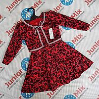 Детские платья для девочек двойка оптом ИТАЛИЯ
