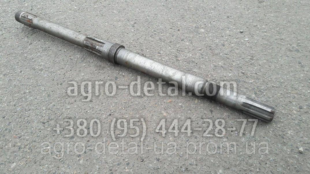 Вал 151.40.204-2 рулевого механизма старого образца трактора Т151К
