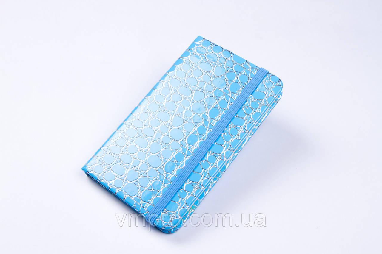Блокнот на резинке (8×13 см), 80 лист, №2101-80K, записная книжка
