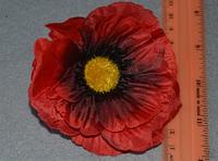 Атласные цветочки 3989  упаковка 8 шт, фото 1