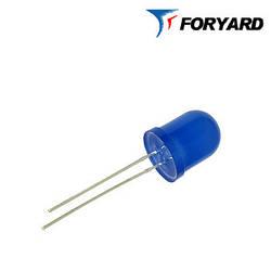 Світлодіод синій 8mm. FYL8003 UBC (470nm. Синій; 1800mcd, 20 °) круглий, дифузний, 20 ° FORYARD