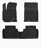 Коврики в салон Kia Venga/ Hyundai ix20 2009 -> черный, кт - 4шт