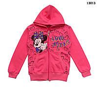 Теплая кофта Minnie Mouse для девочки. 134 см