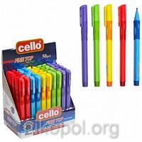 "Ручка-самоучка (тренажер) для левшей Cello ""Fine Top"" 1361, синяя, фото 1"