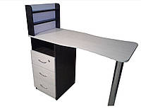 Маникюрный стол Стандарт с полками (комби)