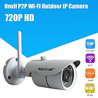 Уличная P2P IP HD WiFi камера Wanscam HW0043 металл с блоком питания