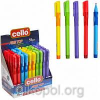 """Ручка-самоучка (тренажер) для правшей Cello """"Fine Top"""" 1361, синяя"""